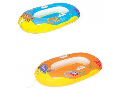 Nafukovací dětský člun Happy Crustacean 119 x 79 cm MIX BAREV BESTWAY