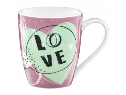 Porcelánový hrnek Love Be Mine 370 ml AMBITION