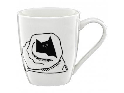 Porcelánový hrnek Cat Kotcilla 370 ml PL NÁPISY AMBITION