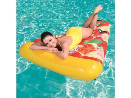 Nafukovací matrace Pizza Party 188 x 130 cm BESTWAY