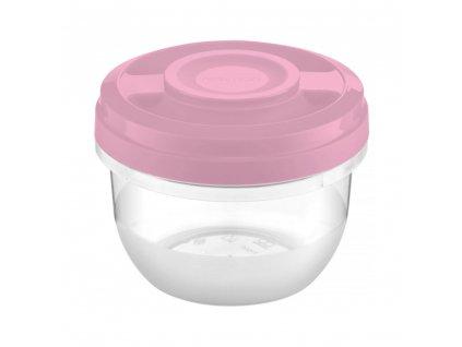 Nádobka do mikrovlné trouby Smart Light Pink 0,5 l AMBITION