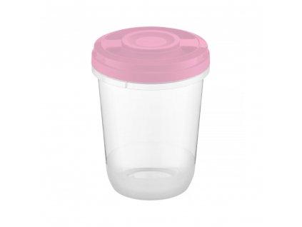 Nádobka do mikrovlné trouby Smart Light Pink 1 l AMBITION