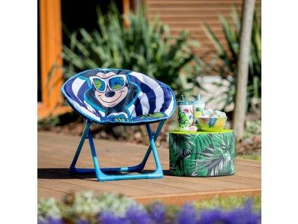 Skládací dětské zahradní křeslo Mickey Mouse DISNEY