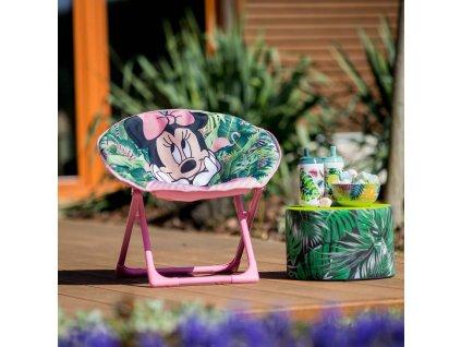 Skládací dětské zahradní křeslo Minnie Mouse DISNEY