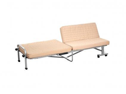 Skládací polní lůžko / sofa Ecru PATIO