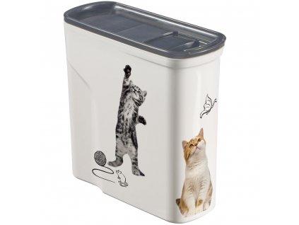 Nádobka na krmivo Pet Life Cat 2 l CURVER