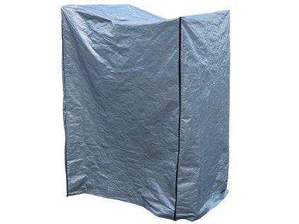 Ochranná plachta na zahradní nábytek Gray 145 x 132 x 220 cm PATIO