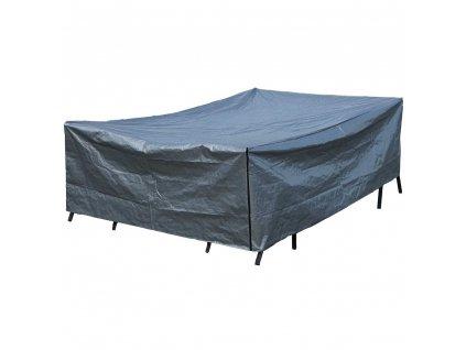 Ochranná plachta na zahradní nábytek Gray 330 x 200 x 88 cm PATIO