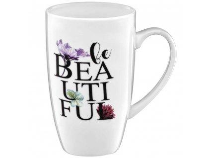 Porcelánový hrnek Garden Be Beautiful 400 ml AMBITION