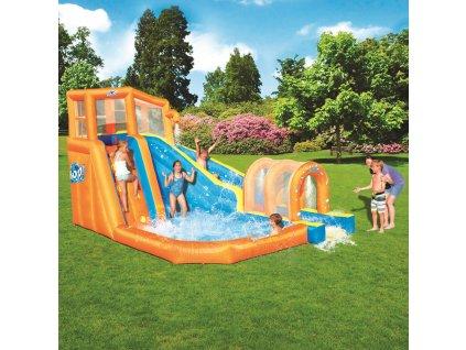 Nafukovací vodní klouzačka s bazénem 420 x 320 x 260 cm BESTWAY