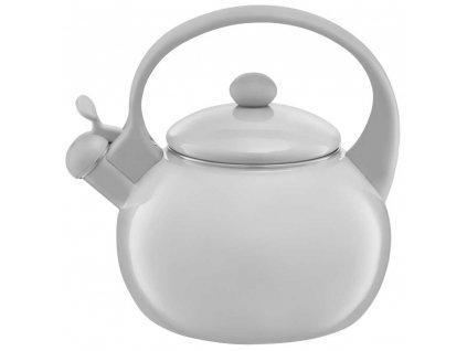 Smaltovaný čajník Garden Gray 2,2 l AMBITION