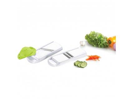 Sada 2 struhadel na zeleninu Aletta MIX BAREV DOMOTTI