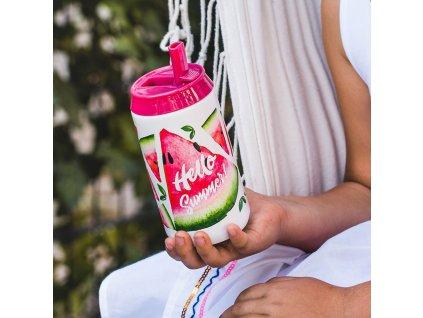 Termoplechovka Tropical Raspberry Melon 250 ml AMBITION