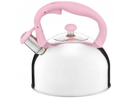 Nerezový čajník Garden Pink 2,8 l AMBITION