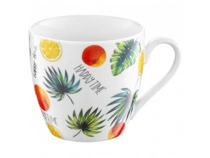 Porcelánový hrnek Tropical Fruits 510 ml AMBITION