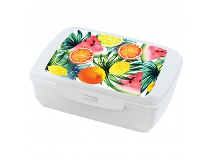 Lunchbox Tropical Fruits 20 x 13 cm AMBITION