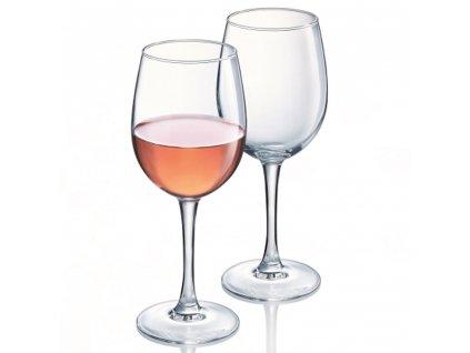 Sada 6 sklenic na víno Venus 260 ml AMBITION