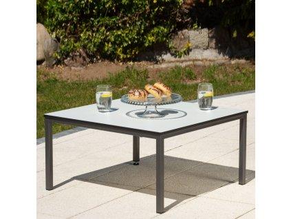 Kávový stolek Agat 68 x 68 x 36 cm PATIO