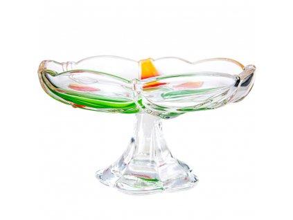 Servírovací talířek na nožce Aurora 18 cm WALTHER GLAS