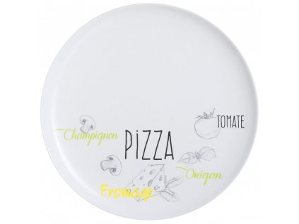 Mělký talíř Pizza Friends Time 32 cm LUMINARC