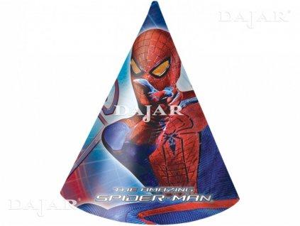 Sada 6 párty čepiček Amazing Spiderman DISNEY