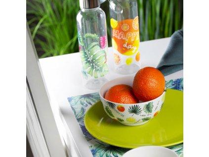 Láhev na vodu Tropical Orange 550 ml AMBITION