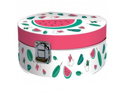 Velká krabička se zrcadlem Minnie Melon 17 x 15,5 x 8 cm DISNEY / AMBITION