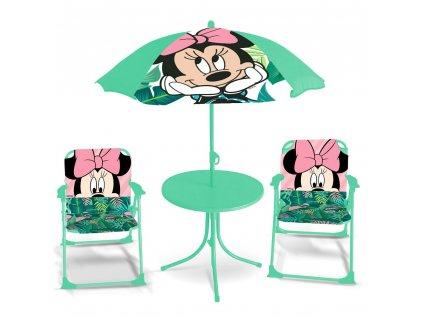Souprava dětského zahradního nábytku Minnie Mouse DISNEY