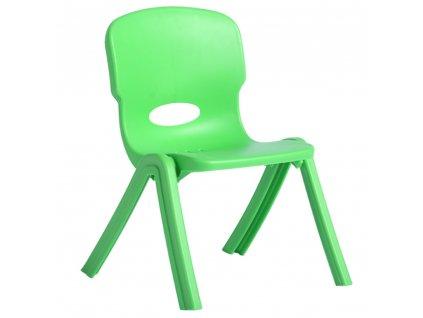 Dětská plastová židle Lime 32 x 27 x 51 cm PATIO