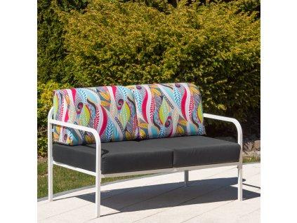 Sofa pro 2-osoby Agat 125 x 77 x 74 cm L122-07EB PATIO