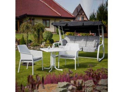 Zahradní stůl Dine & Relax Marble 70 x 70 cm PATIO