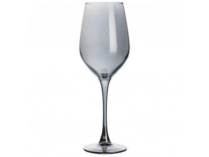 Sada 6 sklenic na víno Celeste Shiny Graphite 350 ml LUMINARC