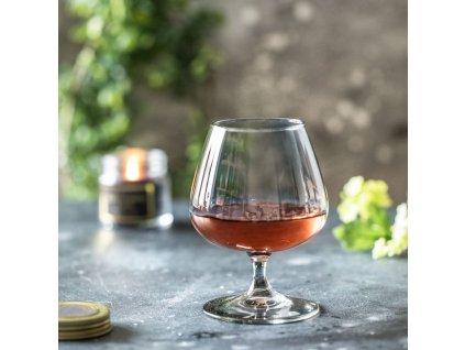 Sada 2 sklenic na koňak Celeste Shiny Graphite 410 ml LUMINARC