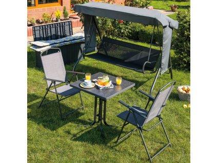 Zahradní stůl Dine & Relax Pizarra 70 x 70 cm PATIO