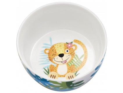 Dětská porcelánová snídaňová sada Mimi 3-díly AMBITION JUNIOR
