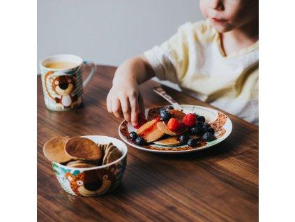 Dětská porcelánová snídaňová sada Alex 3-díly AMBITION JUNIOR