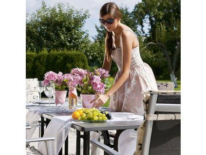 Zahradní stůl Dine & Relax Pizarra / antracIt 115 x 70 cm PATIO