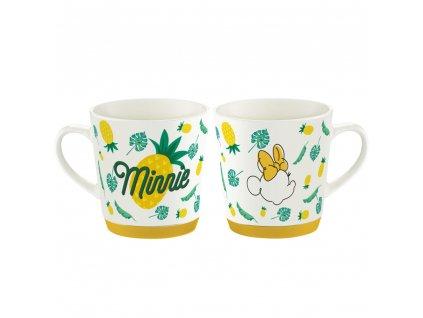 Porcelánový hrnek Minnie Tropical Pineapple 320 ml DISNEY / AMBITION