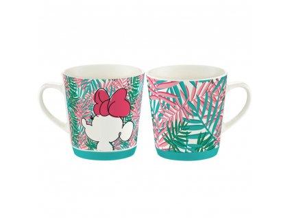 Porcelánový hrnek Minnie Tropical Leafs 320 ml DISNEY / AMBITION