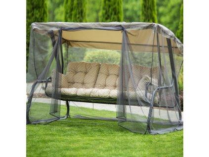 Zahradní houpačka s moskytiérou Celebes Plus H31-05PB PATIO