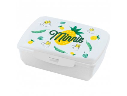 Svačinový box Minnie Pineapple 20 x 13 cm DISNEY / AMBITION