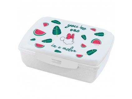 Svačinový box Minnie Melon 20 x 13 cm DISNEY / AMBITION