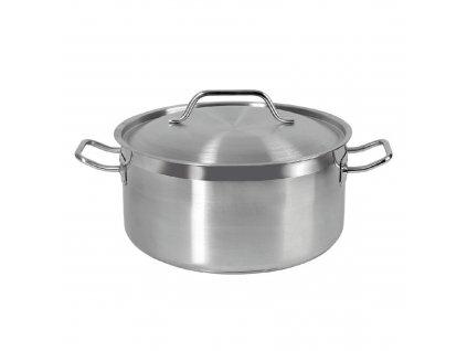 Gastronomický nerezový hrnec s poklicí Vitalux 40 cm, 25 l AMBITION