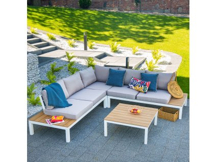 Souprava zahradního hliníkového nábytku Zoe PATIO