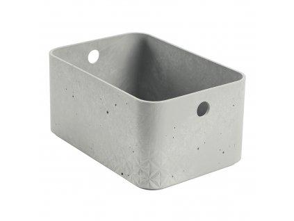 Úložný box Beton Gray 4 l CURVER