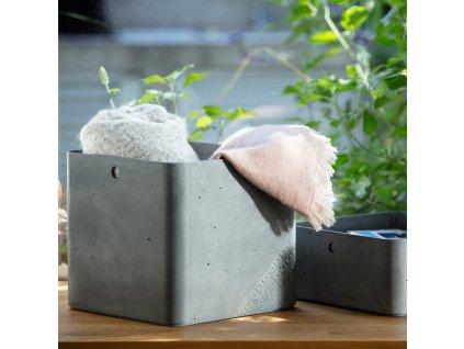 Úložný box Beton Gray 18 l CURVER