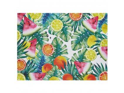 Podložka na stůl Tropical Fruits Leafs 40 x 30 cm AMBITION