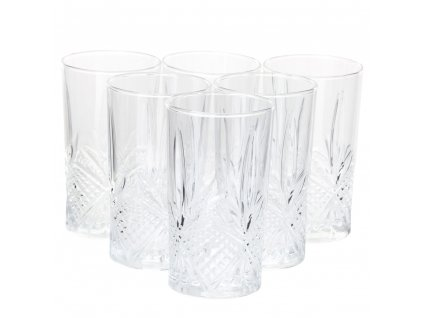 Sada 6 vysokých sklenic Rhodes 280 ml LUMINARC