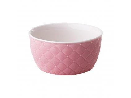 Salátová mísa Glamour Quilted Light Pink 13,5 cm AMBITION