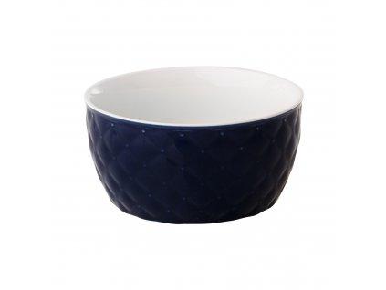 Salátová mísa Glamour Quilted Dark Blue 13,5 cm AMBITION